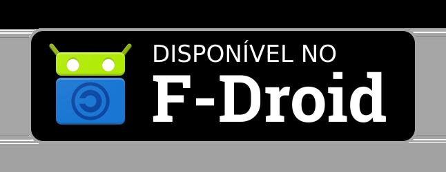 Disponível no F-Droid
